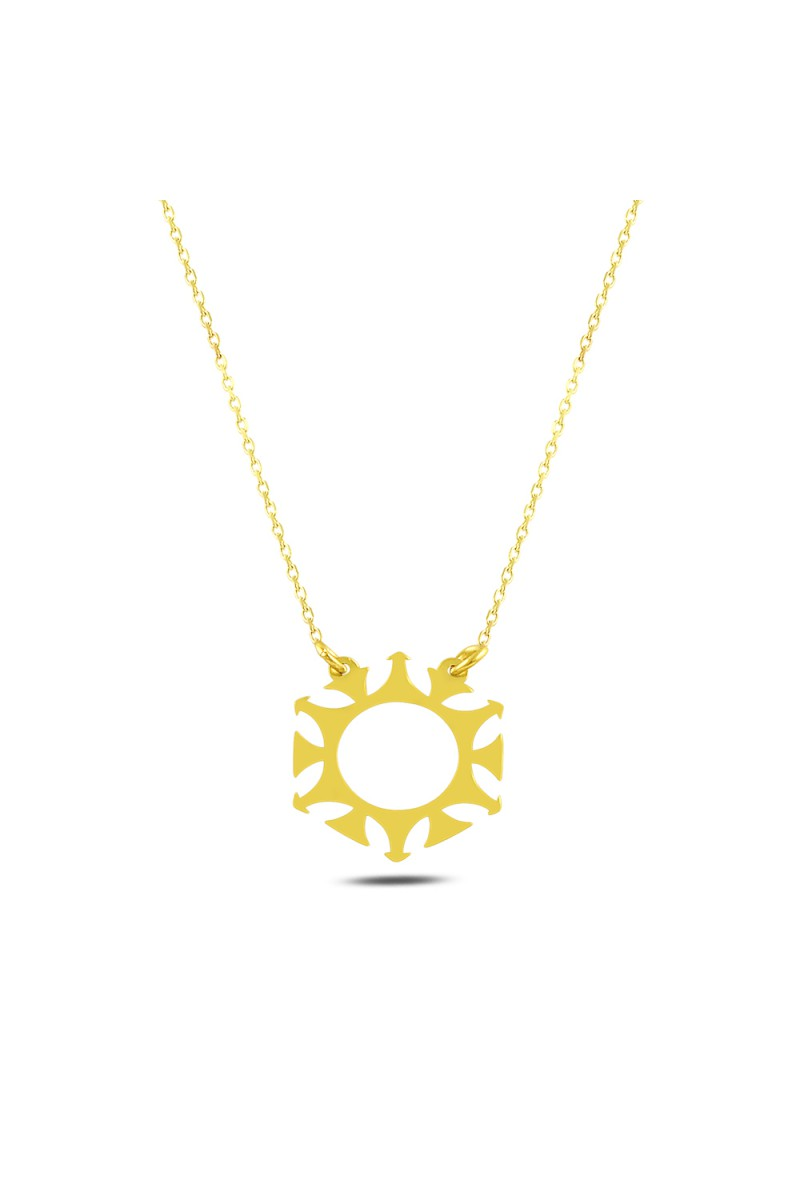 GEOMETRY SUN NECKLACE