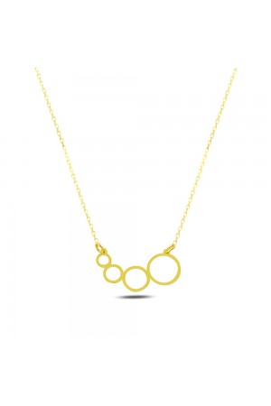 GEOMETRY CIRCLES NECKLACE