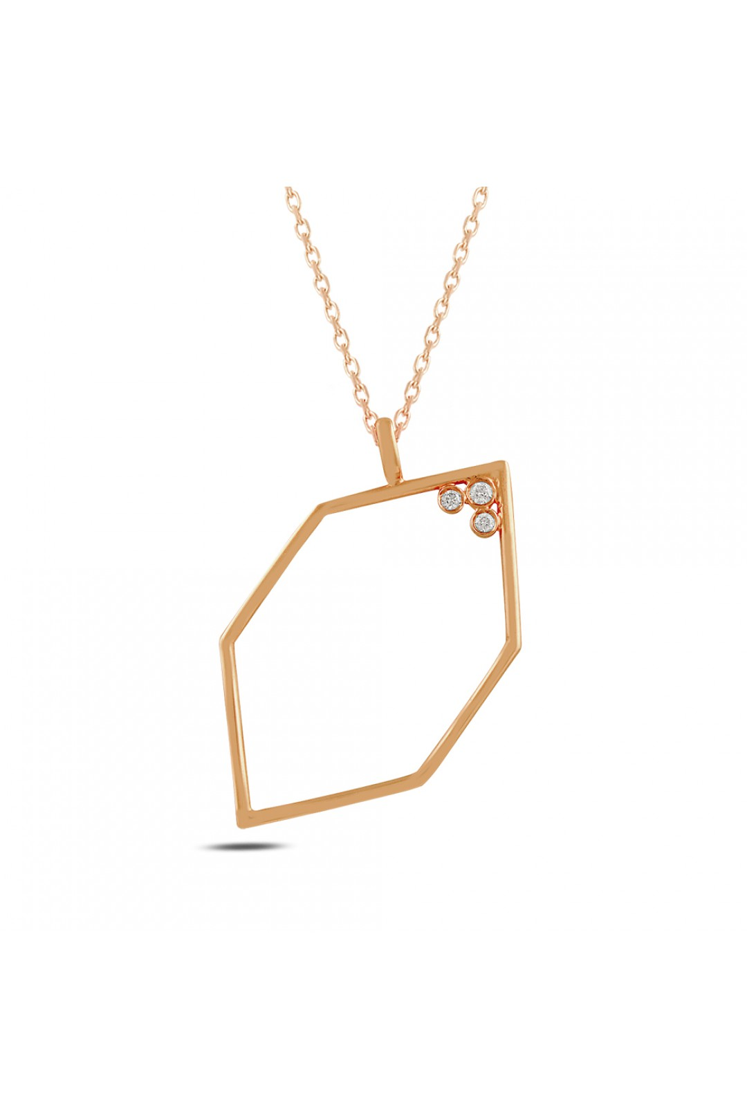 GEOMETRY DIAMOND NECKLACE