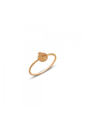 POMEGRANATE LUCK RING