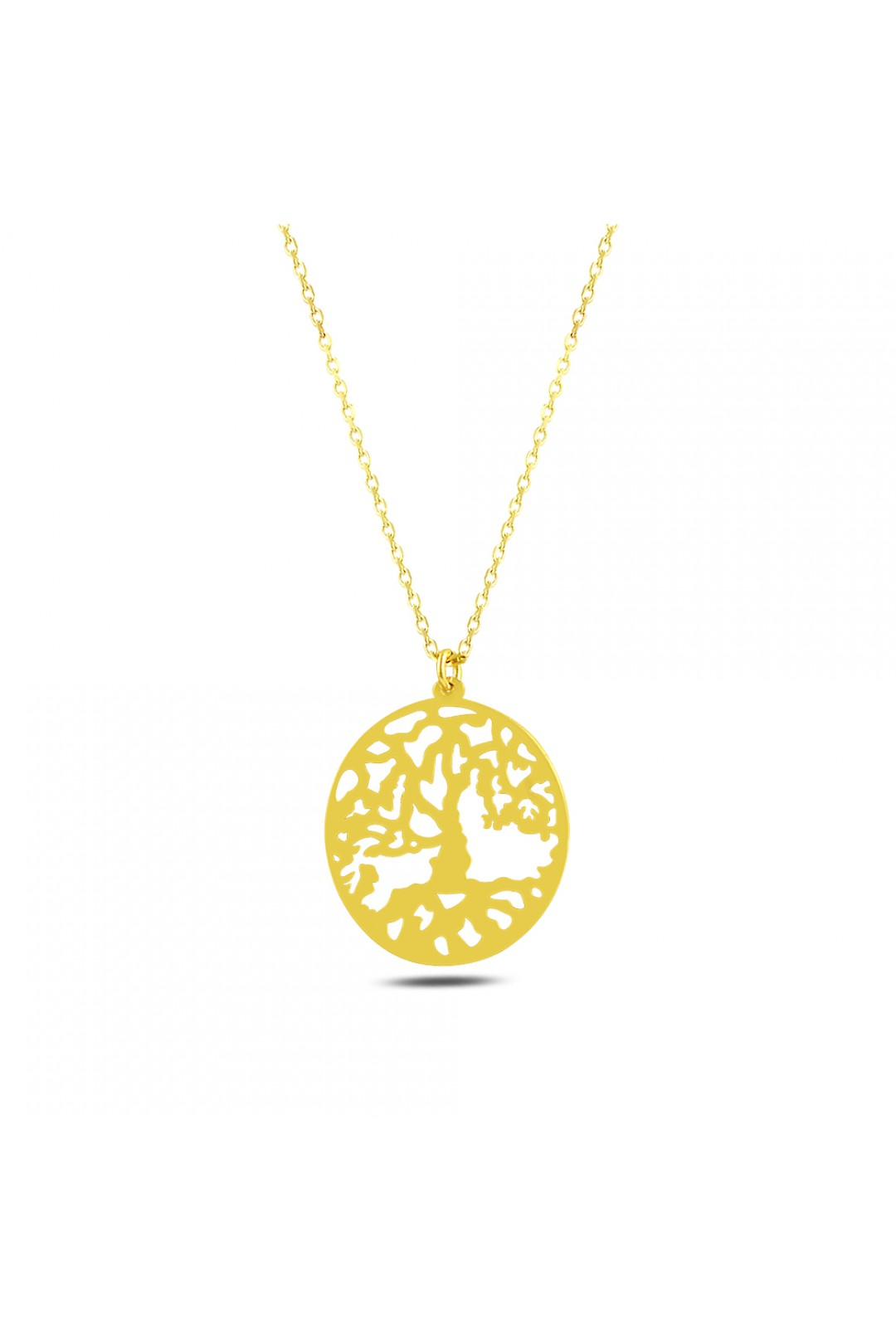 ROOTED TREE NECKLACE