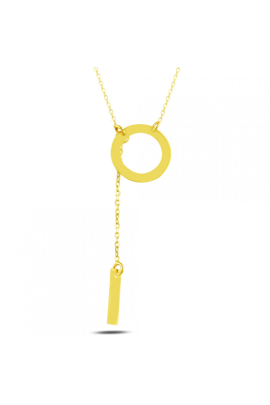 ROUND AND STICK NECKLACE