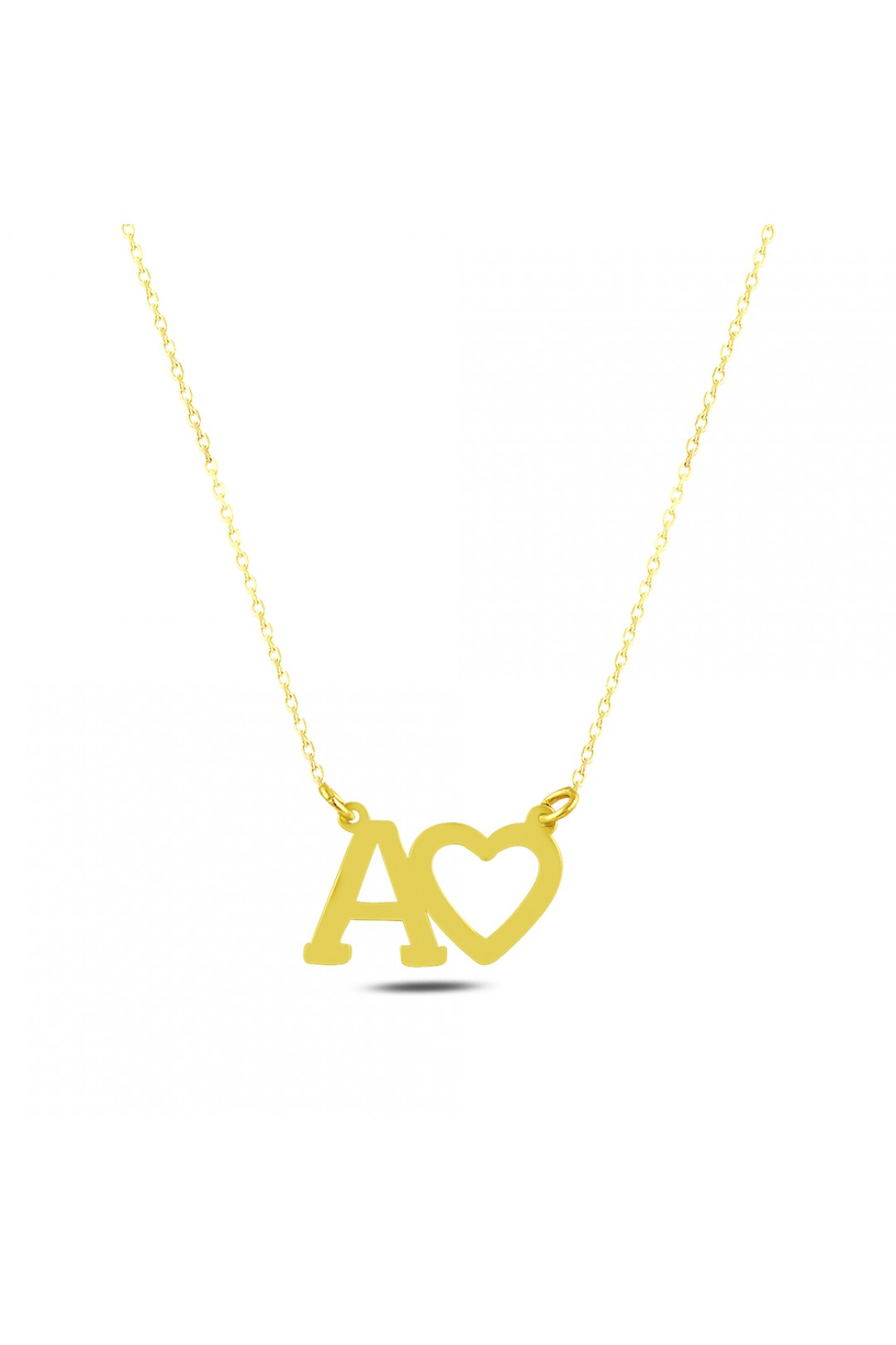 HEARTED A NECKLACE