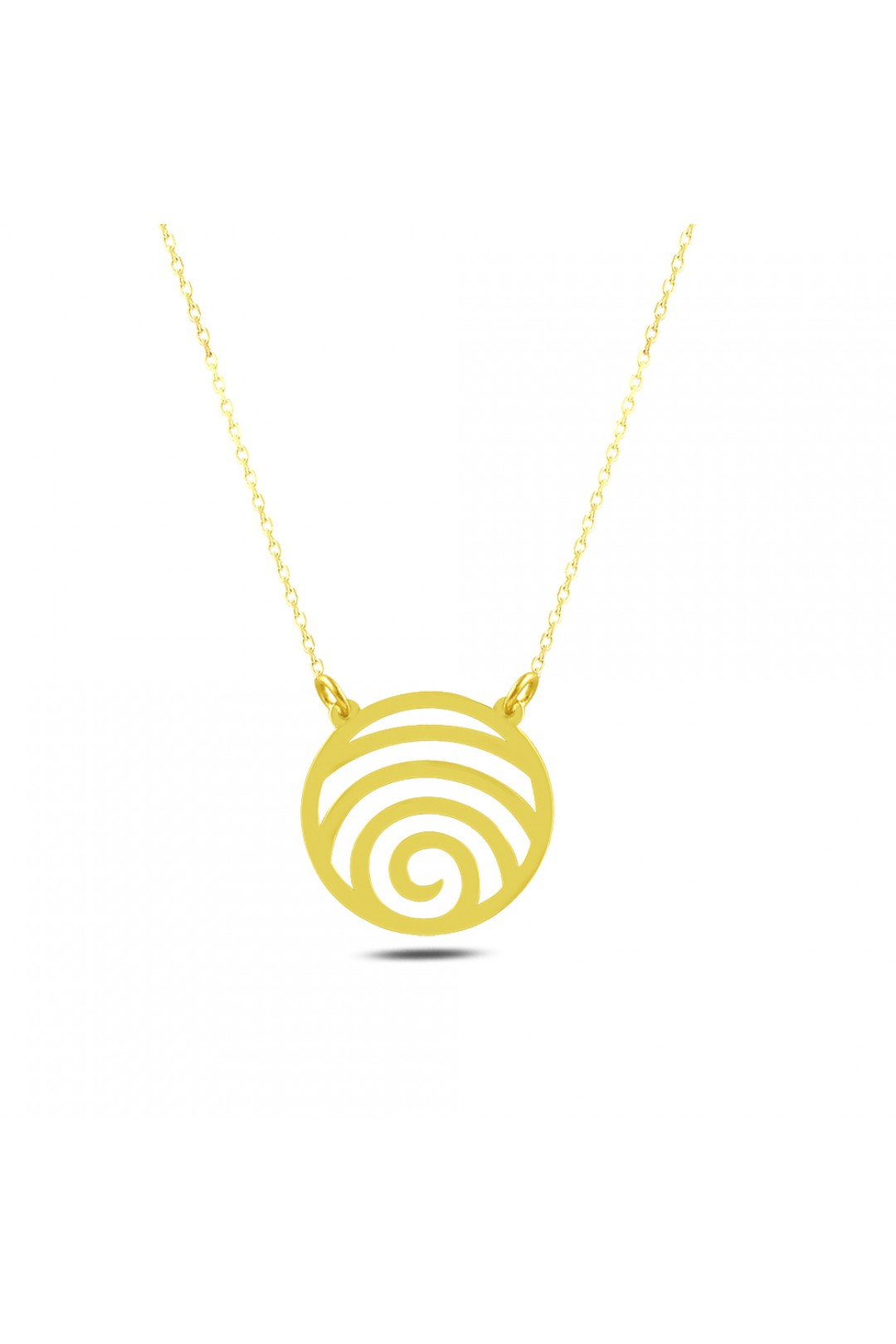 GEOMETRY CIRCLE NECKLACE
