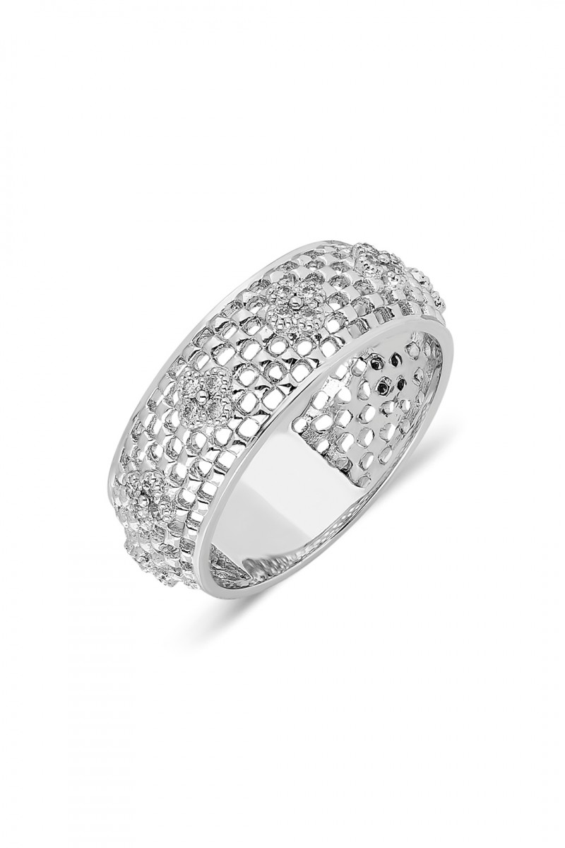 CAGE AND DIAMOND RING