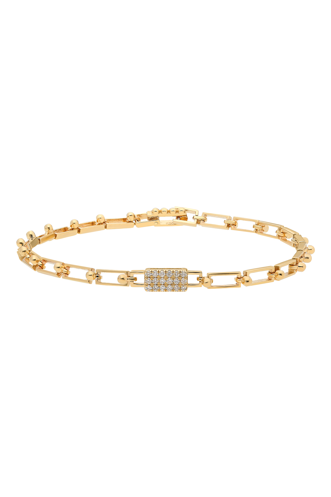 RECTANGLE DIAMONDS BRACELET