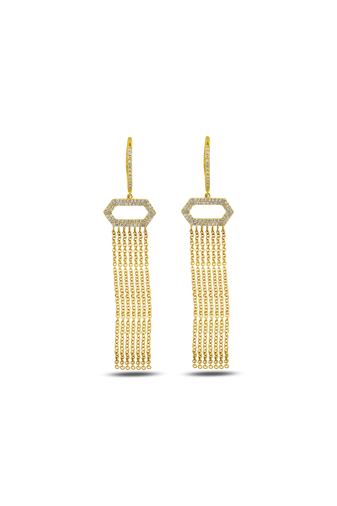 Tassel Diamond Earring