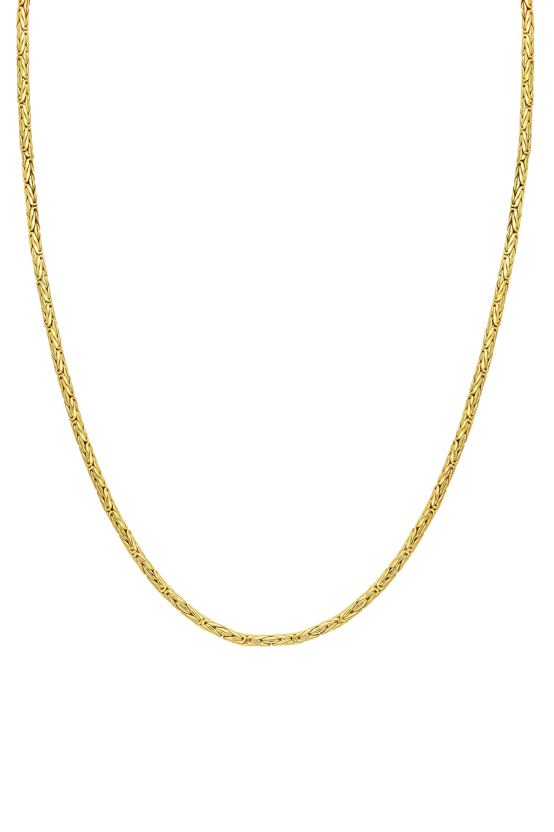 SHAPED RETRO CHAIN NECKLACE