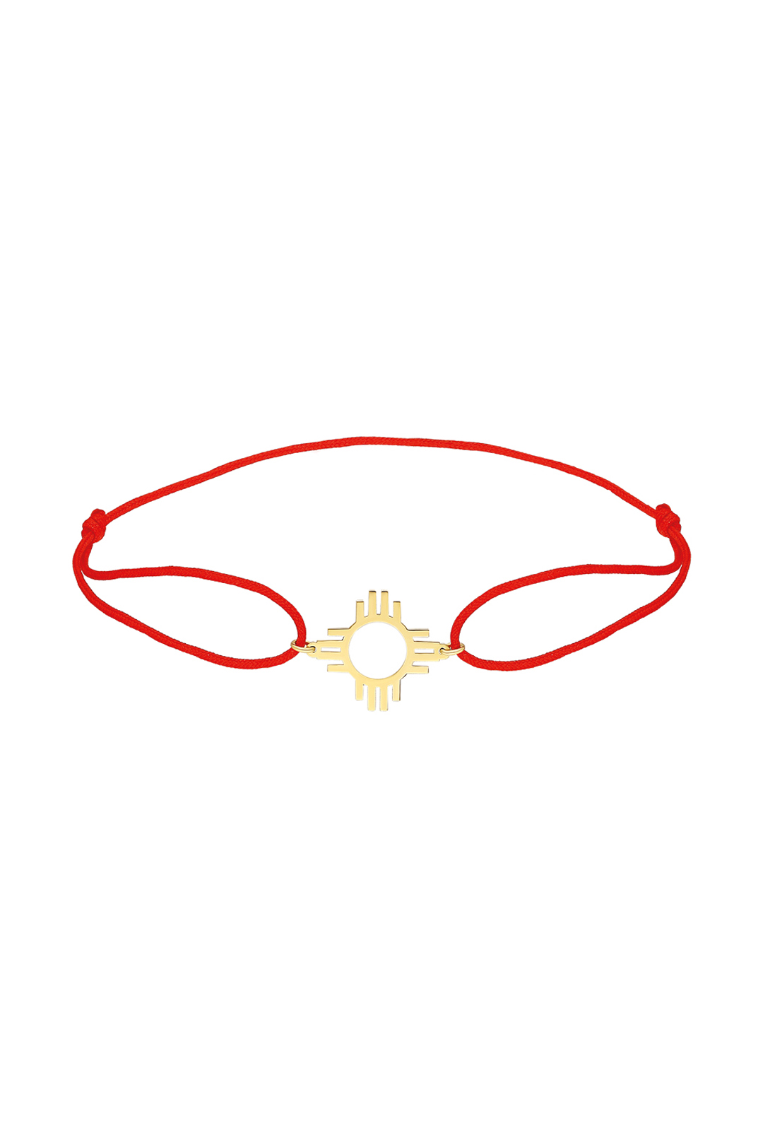 ZIA BRACELET WITH RED STRING