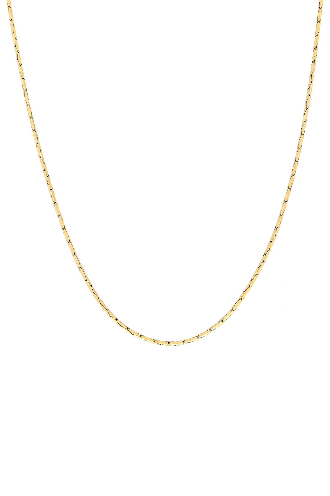 PLAIN RETRO CHAIN NECKLACE