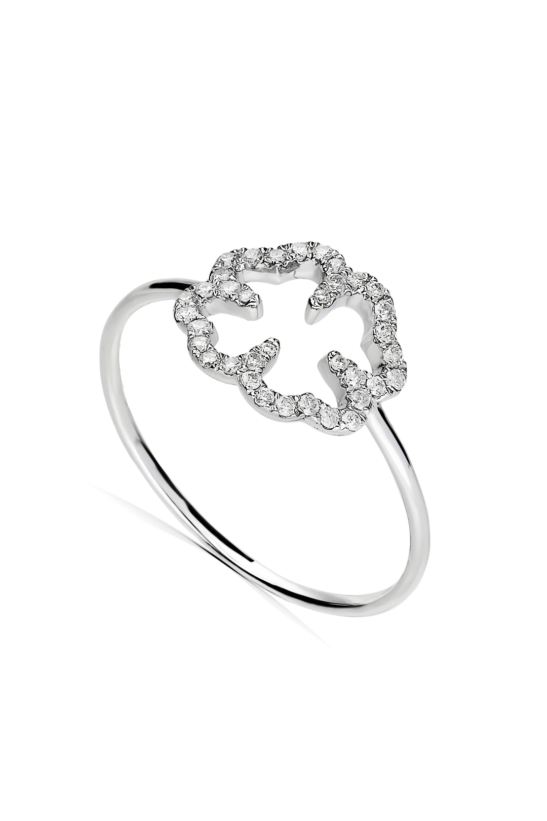 LEAF DIAMOND RING