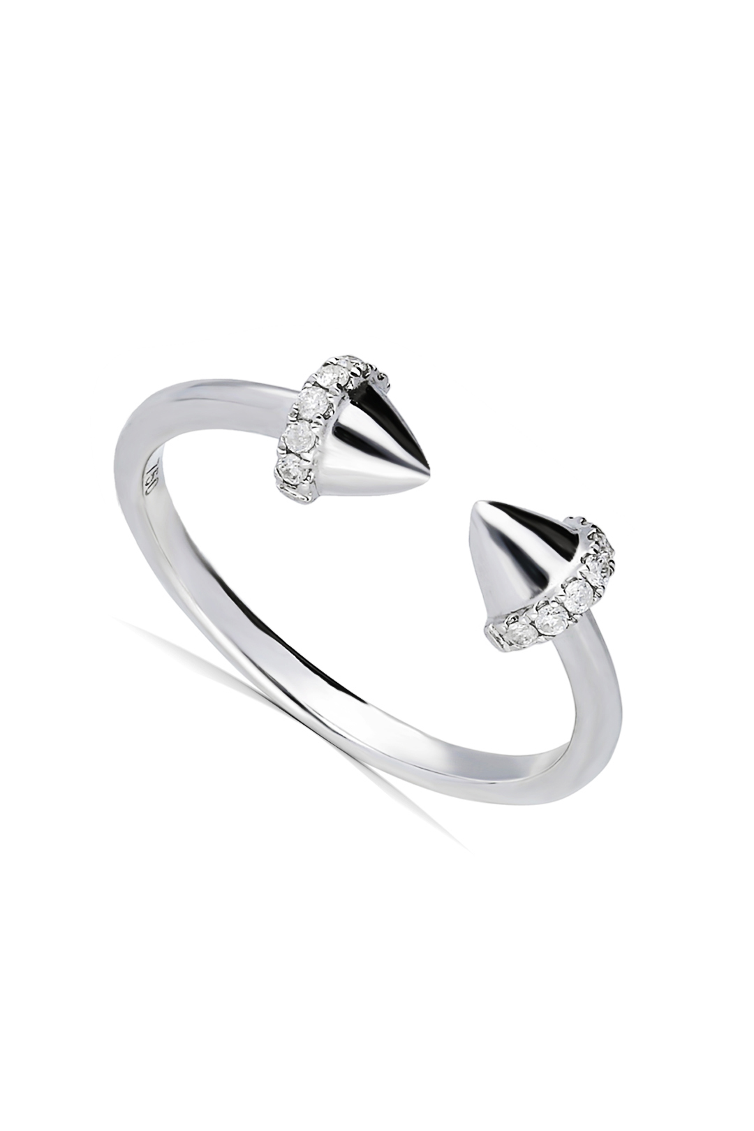 NAIL DIAMOND RING
