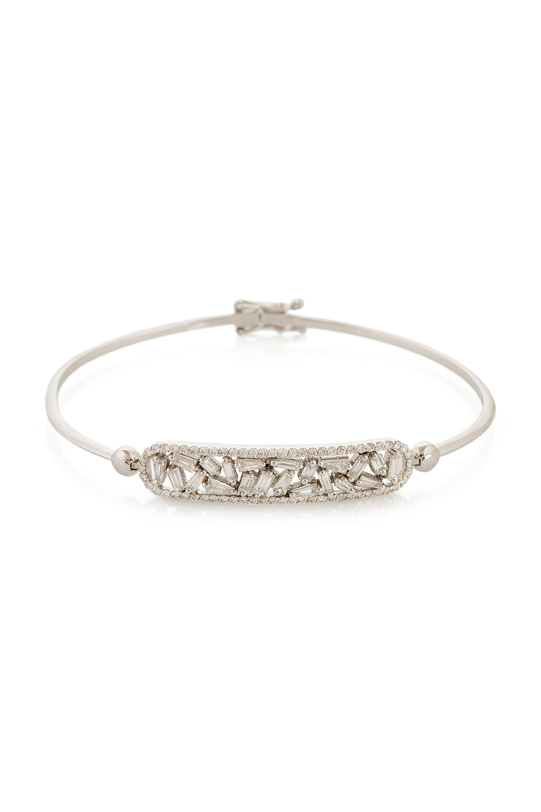 FULL DIAMOND RECTANGLE BRACELET
