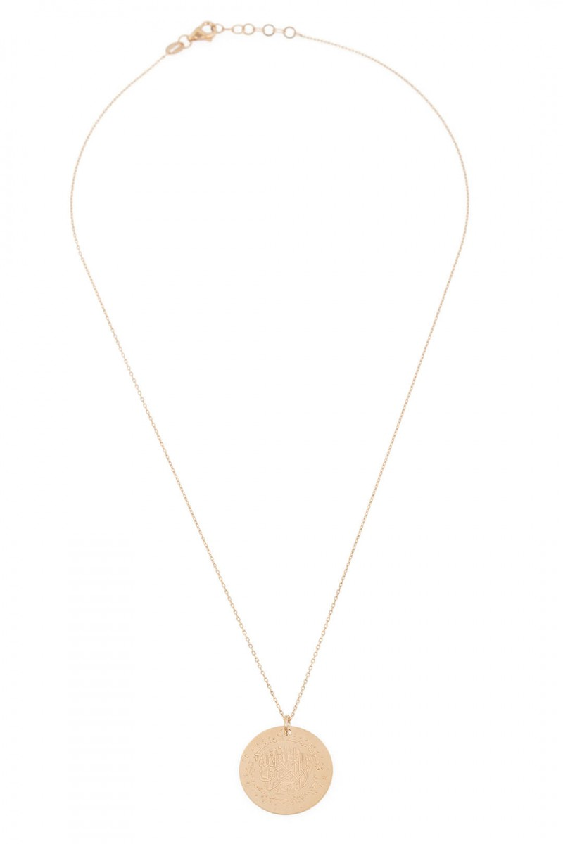 ROUND PROTECT ME NECKLACE