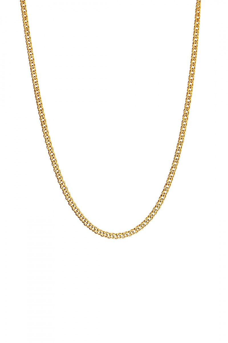 SMOOTH SPIRAL CHAIN NECKLACE