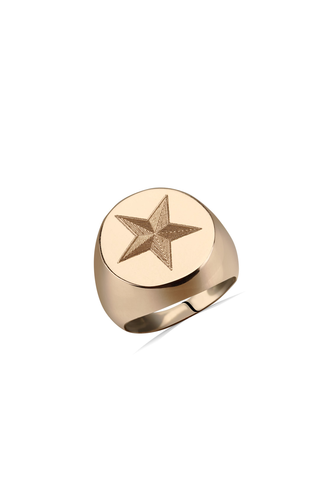 STAR LITTLE FINGER RING